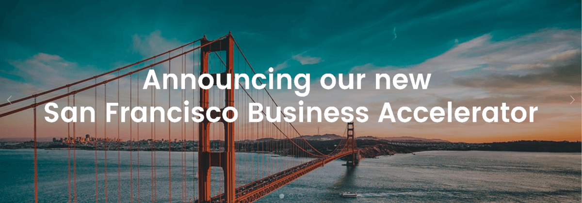 Announcing Our San Francisco Business Accelerator