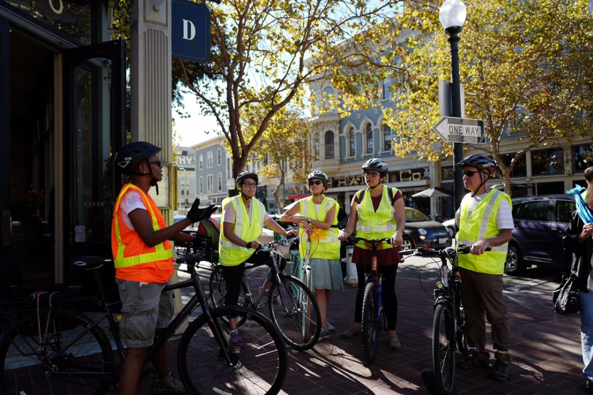 Showing Off Oakland by Bike: Rehema Allen, This Is Oakland Bike Tours